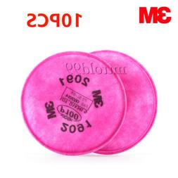 10Pcs=5 Packs 3M 2091 Particulate Filter P100 For 6000, 7000