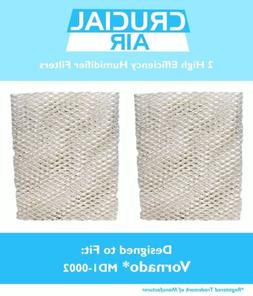 2 Replacements Crucial Air Humidifier Wick Filters Fit Vorna