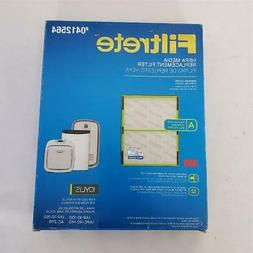 = 3M Filtrete 0412564 Hepa Media Replacement Filter Size A 1