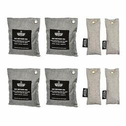 8-Pack Activated Charcoal Bags, Gym Bag & Shoe Deodorizer Va
