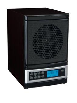 MicroLux ML4000DBK 7-Stage UV Ion Air Purifier with Remote,