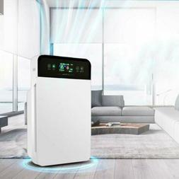 Air Germs Purifier for Home Room w/ True HEPA Particle Carbo