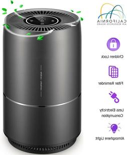 Air Purifier, 4 in 1 Air Purifier for Home Pet Hair, Smokers