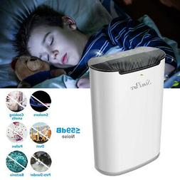 Air Purifier for Home Allergies and Pets Hair, Smokers w/ Ex