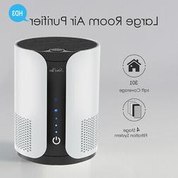 Miko Air Purifier for Home w/ Fan Speeds, Aromatherapy, Time