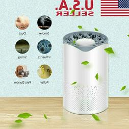 Air Purifier HEPA Filter Home Room Table Smoke Cleaner Eater