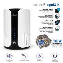 Air Purifier Hepa for Home w/ Fan Speeds, Aromatherapy, Time