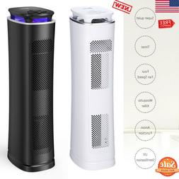 Air Purifier with HEPA Filter Home Indoor Smoke Odor Dust Re