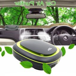 Car Table HEPA Filter Air Purifier Cleaner Remove Odor Mold