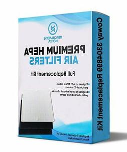 TWO Air Purifier Filters & 4 Carbons For Coway Part# AP1512H