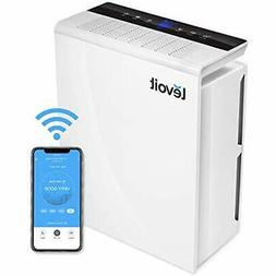 HEPA Air Purifiers Smart WiFi For Home Large Room With True