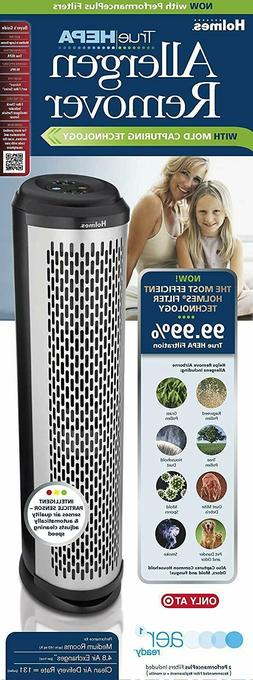Holmes Allergen Remover Tower Air Purifier with True HEPA Fi