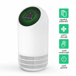 Home Air Purifier with HEPA Filter for Smokers Allergies and