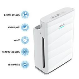 Home True HEPA Air Purifier Large Room Cleaners for Allergie