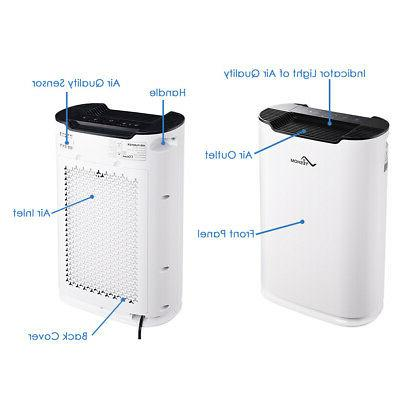 3in1 Air Cleaner Purifier Smoke Remove