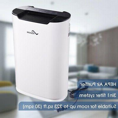 3in1 home air cleaner purifier hepa filter