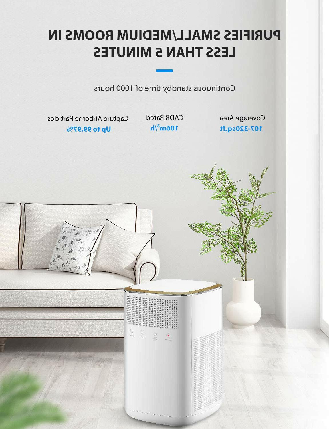 Air 4 in 1 HEPA Air Purifier with True Carbon