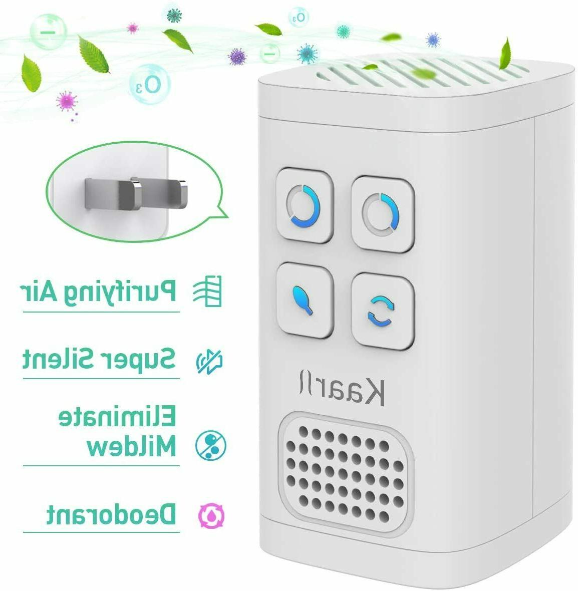 air purifier deodorizer negative ion equipped outlet