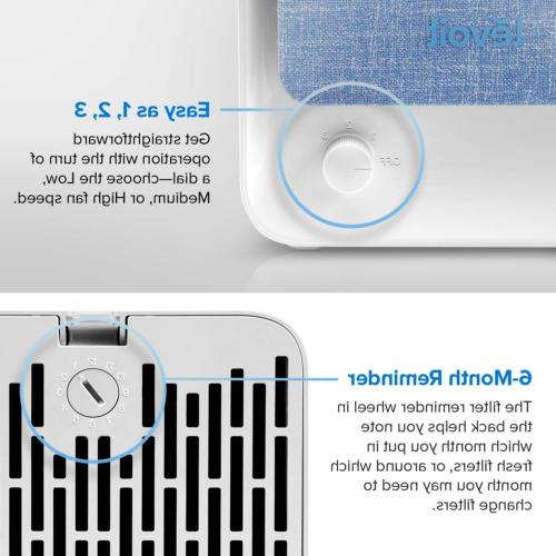 LEVOIT Air Purifier Home Filter, for