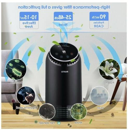 Air HEPA Filter with Carbon Air Cleaner for Home Office