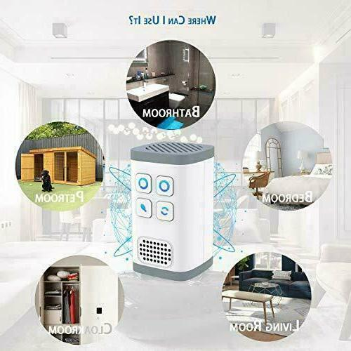 Air Purifier Ozone Generator 4IN1 Disinfection,