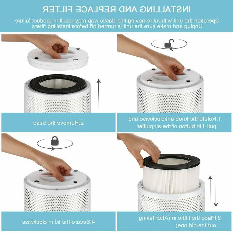 Air Purifier Ionizer Remover Room