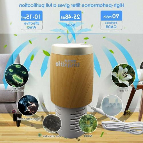 for Home and Office with True HEPA Filter, Cleaner for Aller