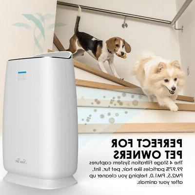 H13 Air Purifiers Large Room Air Cleaner for Allergies Pet