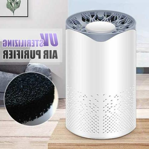 air purifier uv light hepa cleaner filter