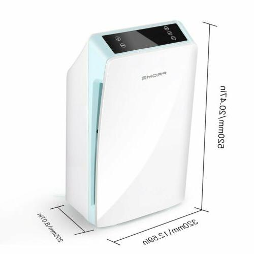 Air Purifier w/ HEPA Filter Air with 3 Dust Smoke