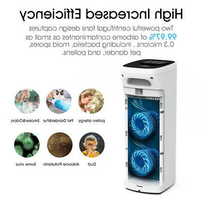 Air Purifiers for Room Allergies Mold Smoke True HEPA filter Air Cleaner