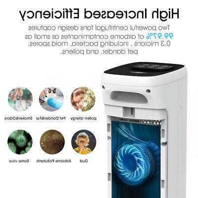 Large Home Air Purifiers True HEPA Purifier for