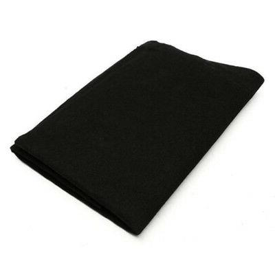 Black Air Conditioner Activated Purifiers Filter Fabric