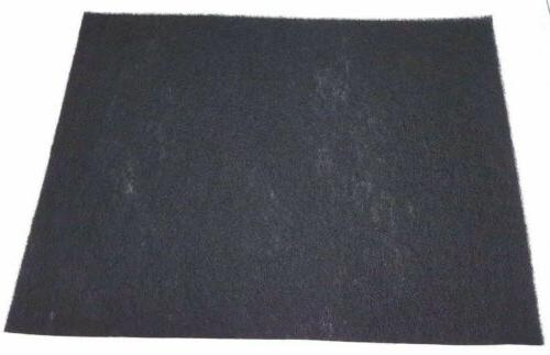 carbon filter pad charcoal sheet can cut