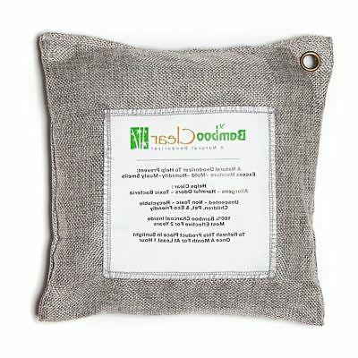 Air Purifying Bags Charcoal Home Deodorizers, 3x500g