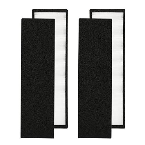 2-Pack True HEPA Air Purifier Filter B Replacement Compatible for Models PureGuardian Carcon