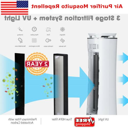 hepa filter air purifier cleaner mosquito repellent