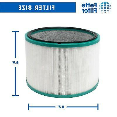 1 Filter Compatible with HP01, HP02, DP01, Purifiers