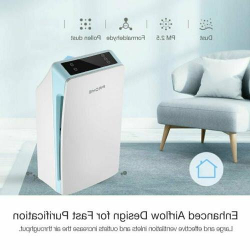Air Purifier Filter Portable with 3 Speeds for Dust