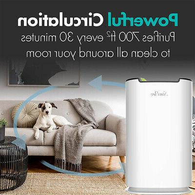 Large Room Air Purifiers HEPA Home Air Cleaner for Allergies