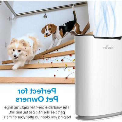 Large Room Purifiers HEPA for Allergies Pets Dust