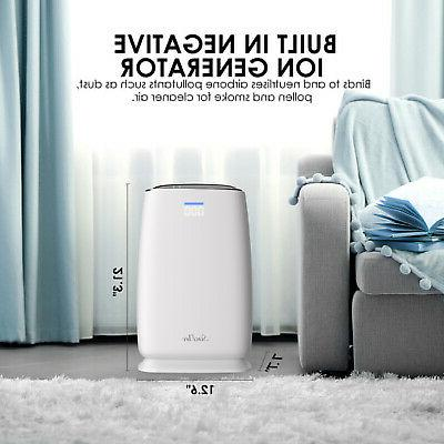 Large Room Air Purifier Home Air Allergies Remover