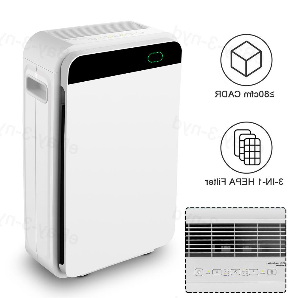 Large Office Air Cleaner HEPA Filter Remove Mold