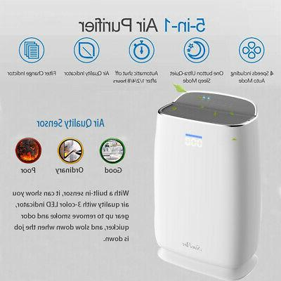 Large Air Purifiers HEPA for Pets Smoker Dust