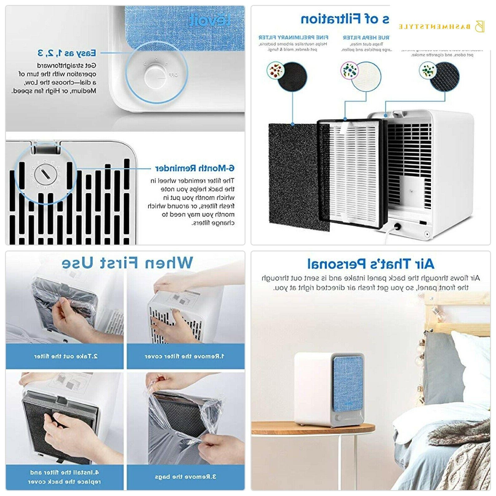 levoit air purifiers for home with true