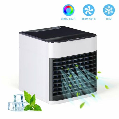 Portable Air Conditioner Cooler Personal Mini 3 Mode 7 Color