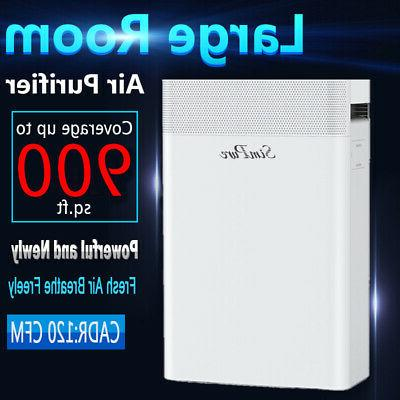 powerful large room air purifier medical grade