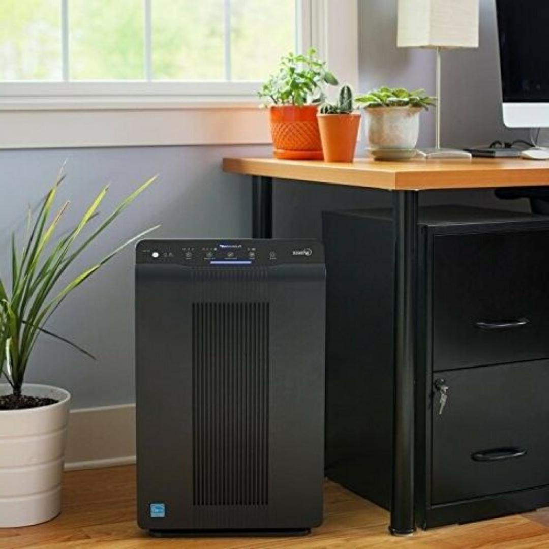 PURIFIER AIR CLEANER FILTER Ionizer Generator Office Room Smoke