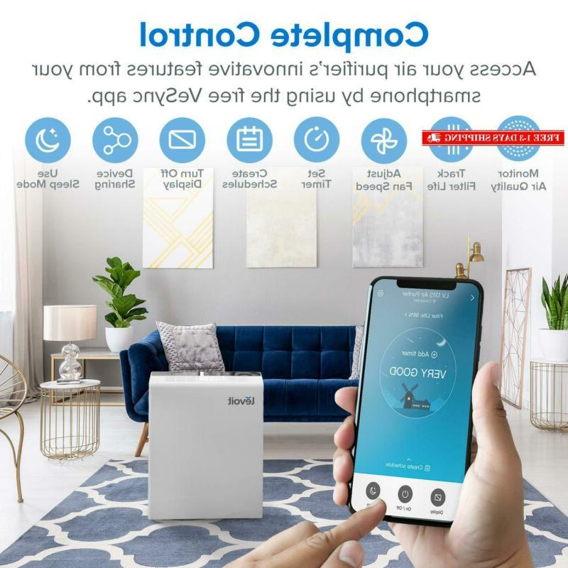 Levoit Smart Wifi Air Purifier Home Large Room Hepa Filter,Air