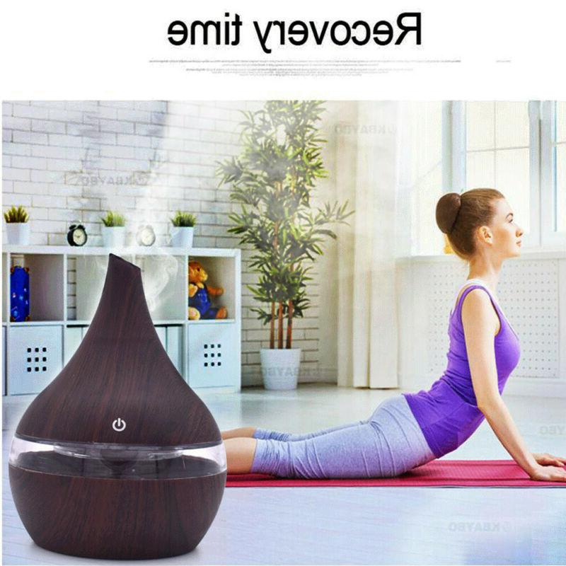 USB Essential Aroma Diffuser Ultrasonic Humidifier Purifier